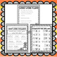 First Grade Emergency Sub Plans - Fall Edition!