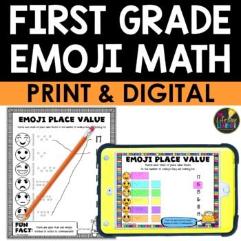 1st Grade Emoji Math