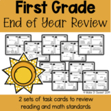 First Grade End of Year Review Scoot