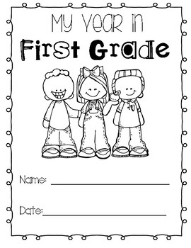 First Grade End of the Year Book