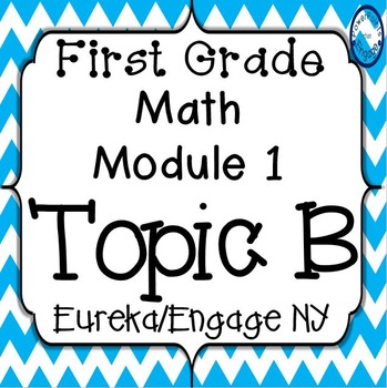 First Grade Engage NY (Eureka) Math Module 1 Topic B Interactive PowerPoints