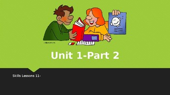 First Grade Engage NY Skills-Unit 1 Lessons 11-20