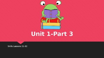First Grade Engage NY Skills Unit 1 Lessons 21-32