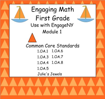 Engage NY Math Module One for First Grade