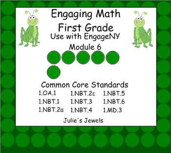 Engage NY Math Module Six for First Grade