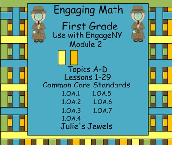 Engage NY Math Module Two for First Grade