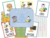 First Grade Engaging Sight Word Games~Jungle Theme