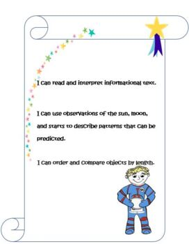 1st Grade Common Core ELA and Earth and Space Science-The Solar System