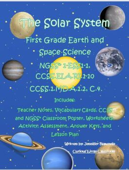 1st Grade Common Core ELA and Earth and Space Science-The