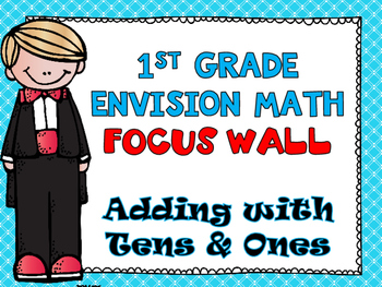 First Grade Envision Math  Topic 10 Adding With Tens and O