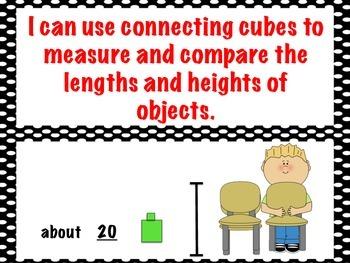 First Grade Envision Math  Topic 12 Length Focus Wall
