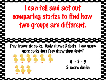 First Grade Envision Math Topic 2 Understanding Subtraction Focus Wall