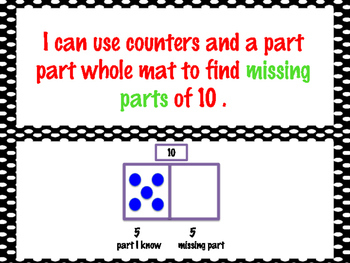 First Grade Envision Math Topic 3 Five and Ten Relationships Focus Wall