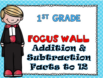 First Grade Envision Math Topic 4 Addition & Subtraction F