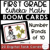 First Grade Eureka Math Boom Cards™ Number Bonds of 10 Dig