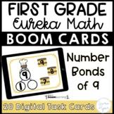 First Grade Eureka Math Boom Cards™ Number Bonds of 9 Digi