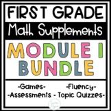 First Grade Eureka Math Engage NY Module 1 BUNDLE