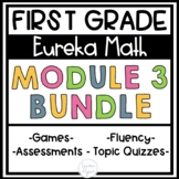 First Grade Eureka Math Engage NY Module 3 BUNDLE