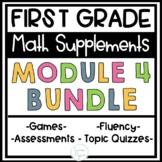 First Grade Eureka Math Engage NY Module 4 BUNDLE