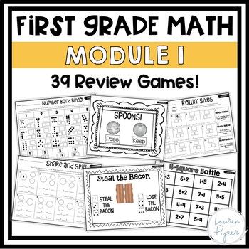 First Grade Eureka Math: Module 1 Games and Activities