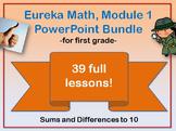 First Grade Eureka Math Module 1 PowerPoint Bundle (Additi