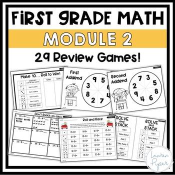 First Grade Eureka Math: Module 2 Games and Activities
