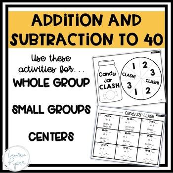 First Grade Eureka Math: Module 4 Games and Activities