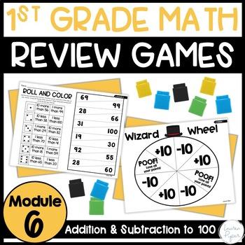First Grade Eureka Math: Module 6 Games and Activities