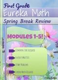 First Grade Eureka Math Spring Review Packet