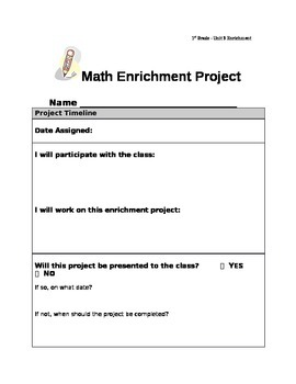 First Grade Everyday Math Compaction Packet - Unit 3 (Telling time/elapsed time)