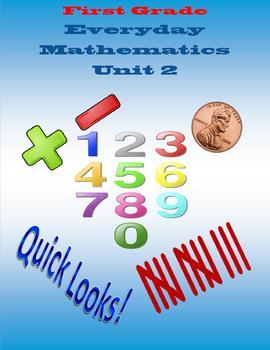 First Grade Everyday Mathematics Unit 2