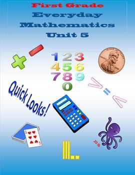 First Grade Everyday Mathematics Unit 5
