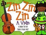 First Grade Exemplar Text Close Reading Lessons:Zin! Zin! Zin! A Violin