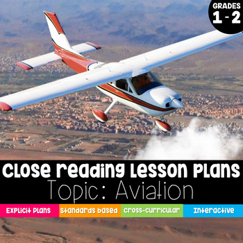 Close Reading 1st & 2nd Grade: How People Learned to Fly