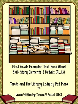 First Grade Exemplar Text: Tomas and the Library Lady