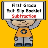 Math Exit Slips  (Subtraction)