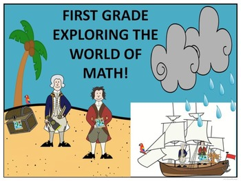 Math: First Grade (Explorers - Columbus Day)