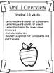 First Grade FUN-Phonics Spelling List