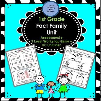 First Grade Fact Family Unit Kit