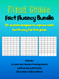 First Grade Fact Fluency