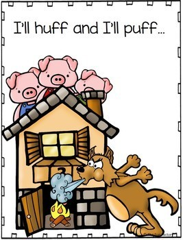 Fairytales First Grade Literacy Unit The Three Little Pigs