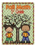 First Grade Fall Math