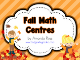 First Grade Fall Math Centres