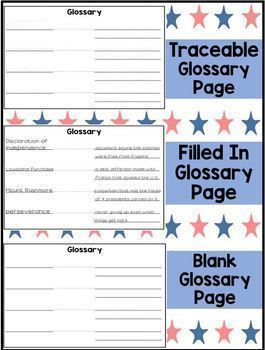First Grade Famous Americans Biography Study- Bundled for the Full Year