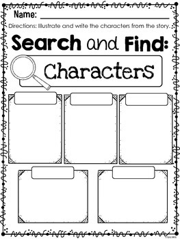 First Grade Fiction Close Reads {25 Weeks Included}