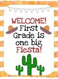 First Grade Fiesta!
