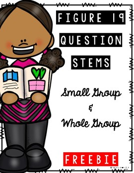 First Grade Figure 19 Question Stems {TEKS Aligned}
