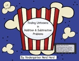 First Grade: Finding Unknowns Addition and Subtraction
