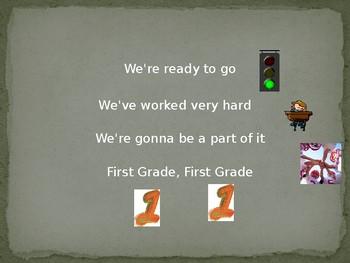 First Grade, First Grade Song