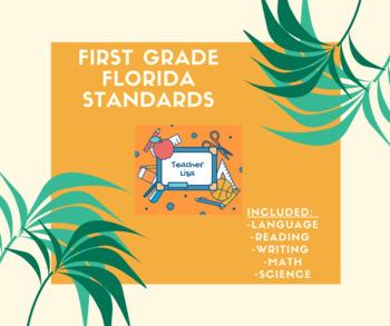 First Grade Florida Standards